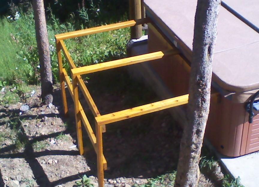 CUSTOM wooden rack 2