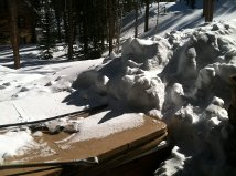 WNS SHOVELING crushed cover