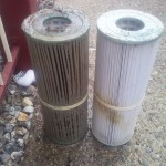 WNS dirty vs clean filter